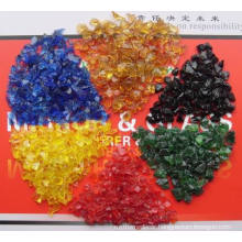 Landscaping Glass Chips Colored Squash Glass Mirror Scraps