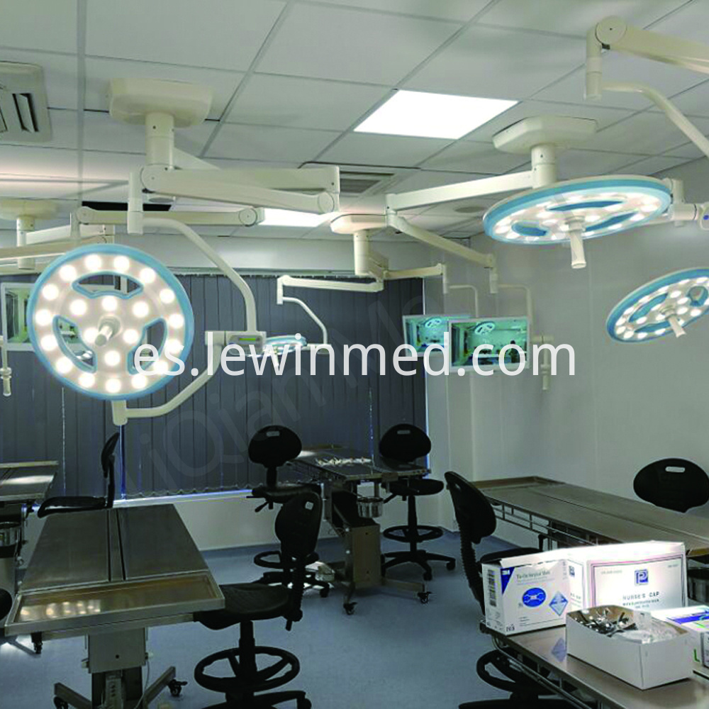 Hollow led ceiling light