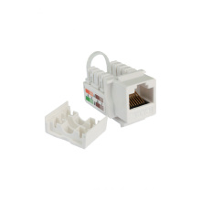 High performance cat6 utp RJ45 toolless keystone jack