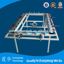 Equipments for making carousel screen printing mesh