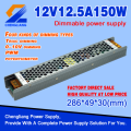 3 year warranty 90-135V/ 170-265Vac 12v 15a 180w 200w triac dimmable led power supply