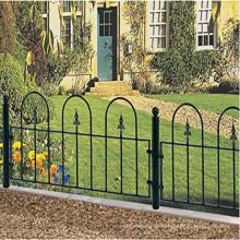 haut de cercueil de village balustrades ou panneaux de clôture différentes tailles en fer forgé métal