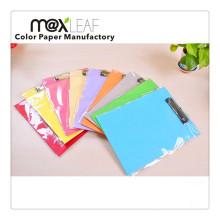 A4 Assorted Colors Paperboard en papier coloré