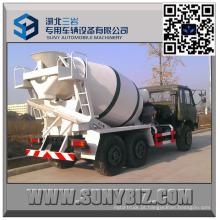 Dongfeng CUMMINS Engine 3 M3 todo o caminhão do misturador da movimentação da roda