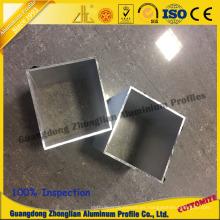 Perfil de aluminio de construcción para tubo de aluminio