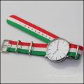 Mad Cow cuero reloj de acero inoxidable 316L, Japón Movt reloj precios relojes para hombre