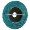 disque de rabat d'alumine de zircone grossier / moyen / fin de porcelaine