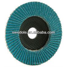 disco de aleta de alúmina de zirconia grueso / medio / fino de china