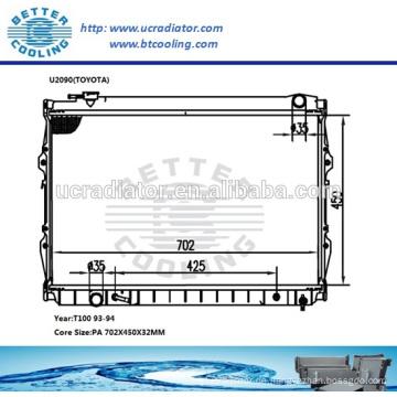 Auto Kühler für Toyota T100 93-94 OEM: 164100W050