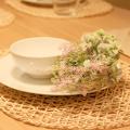 high quality cheap green artificial mint leaf for flower arrangement