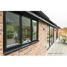 Condensation Channel Double Glass Aluminium Windows