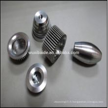 Fabrication de composants de tournage cnc de précision en acier inoxydable pièces de machines à tour