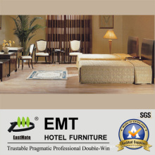 Concise Style Hotel Furniture Twin-Bed Room Sets (EMT-B0663)