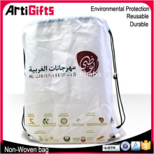 New arrivals drawstring non woven shopping bag