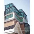 Telhado do sunroom do alumínio da parte superior da fábrica do wanjia de Foshan