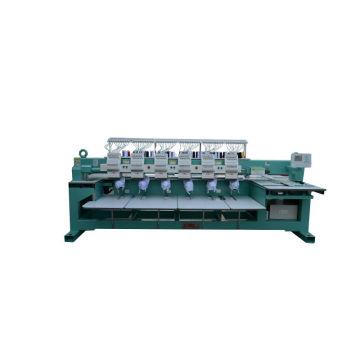 2014 новейшая 6 головка 12 иглы колпачок компьютеризированная вышивальная машина