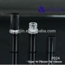 2015 neue kosmetische Verpackung Kunststoff schwarze Lippe Balsam Rohr leere niedlichen Lippenbalsam Container