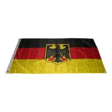100% Polyester Siebdruck Deutschland Flagge