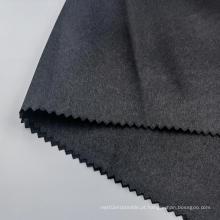 Tecidos de cetim 100% poliéster blackout para calças masculinas