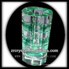 Beau vase en cristal L021