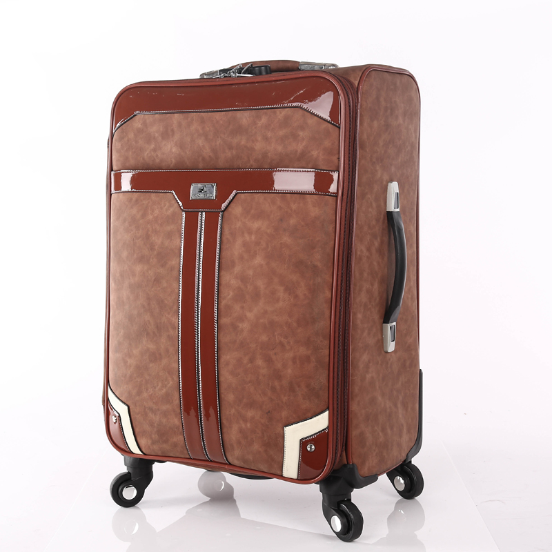 vintage custom PU Luggage