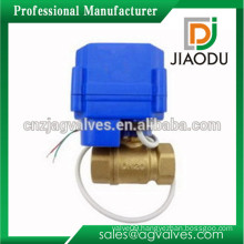 customized 1 or 2 or 3 or 4 or 5 inch forged china manufacture cw614n brass food grade electric motorized valve for gas