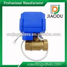 Personalizado 1 ou 2 ou 3 ou 4 ou 5 polegadas forjados China manufatura cw614n latão classe alimentar válvula elétrica motorizada para gás