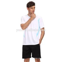 juego de uniforme de fútbol en blanco nuevo modelo de fútbol mejor jersey al por mayor