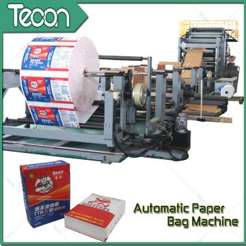 Saco de papel de alta velocidade Multiwall que faz a maquinaria