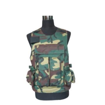 Geben Sie 7 militärische Ausrüstung 2 Grad Schutz weiche kugelsichere Weste