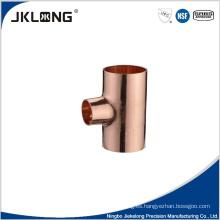 Tee de reducción de cobre forjado