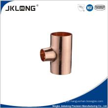 T de redução de cobre forjado