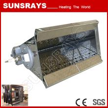 Brûleur de tuyau d'acier inoxydable de haute qualité pour le four de convection d'air