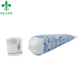 Guangzhou 50ml plastic hand cream tube with screw cap