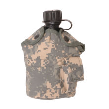 Militar Us Waterbottle con cubierta de la cantina
