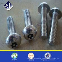 304 Anti-Diebstahl-Schraube Anti-Diebstahl-Schraubenzieher Schraube machen Maschine