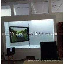 55-дюймовый прозрачный ЖК-экран с видеомагнитофоном