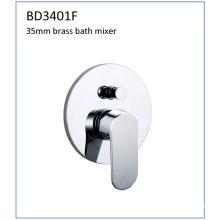 Bd3401f 35mm latón solo palanca ocultar grifo de baño de montaje