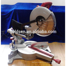 1900w15A Powe Portable Wood Saw Aluminium Cutting Electric Power 305mm Slide Mitre Saw
