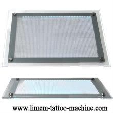 Mesa de almohadilla de seguimiento de luz de tatuaje de alta calidad
