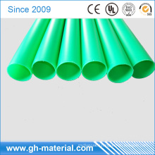 Clear Hard Semi Rigid PVC 4.5mm Plastic Vinyl Round Tube