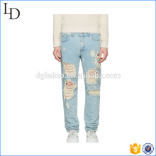 New Fashion Trousers Competitive Price Ripped Jeans