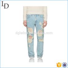 Calças de moda nova Jeans rasgado preço competitivo
