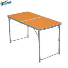 Heißer Verkaufs-orange Speisetisch-im Freien Freizeit-Tabelle