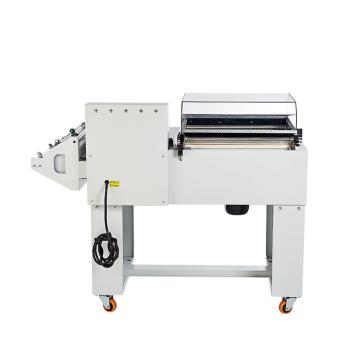 Film semi-automatique de PVC PP de POF 2 dans 1 machine à emballer d'emballage de scellant thermorétractable