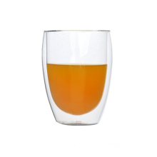 200ml heat resistant double wall glass tumbler
