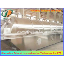 Vertical fluid bed dryer for malic acid
