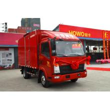 4.2m 109hp Red Color Van Truck