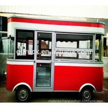 mobile fast food Food Truck / Fast Food Cart / Hot Dog Vending Van/ shopping van