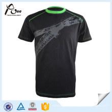 Desgaste liso da camisa da sublimação T dos esportes